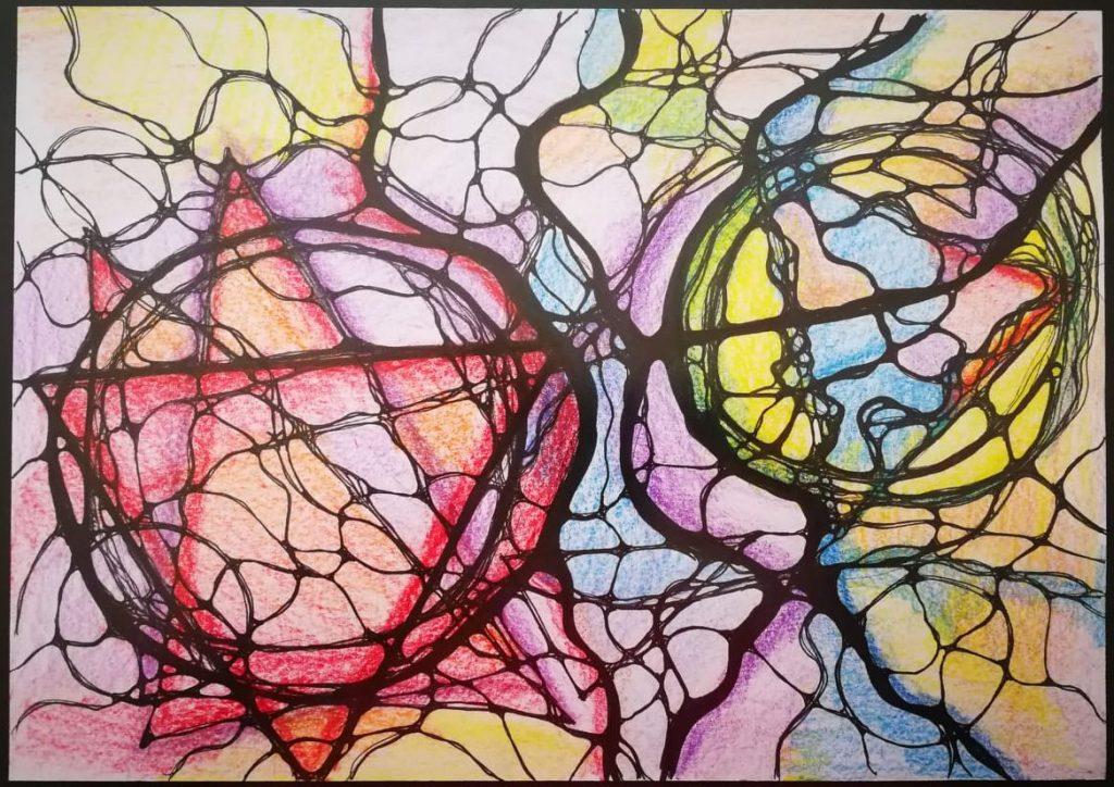 неврографика и взаимоотношения